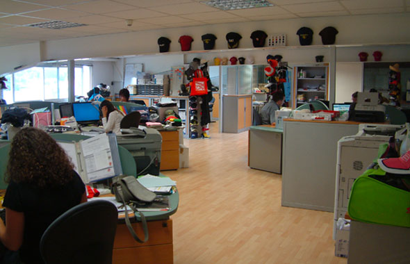 Les bureaux Textiprint