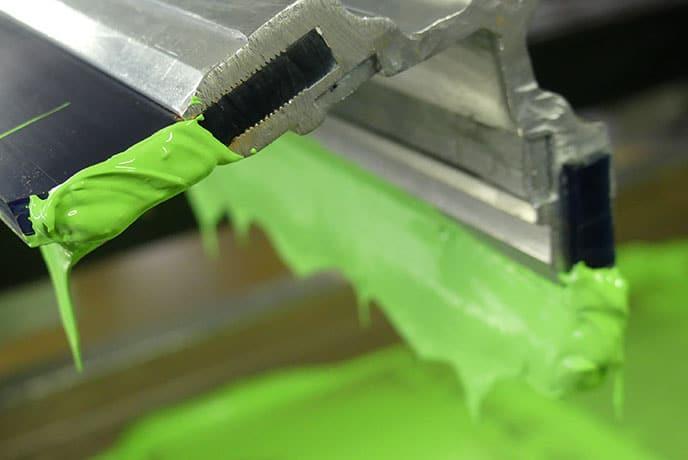la sérigraphie sur textile, l'encre d'impression textile