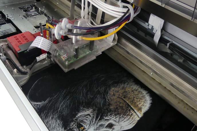 Personnalisation textile avec le digital print