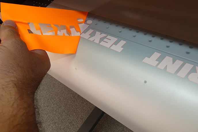 Personnalisation textile par la flexographie